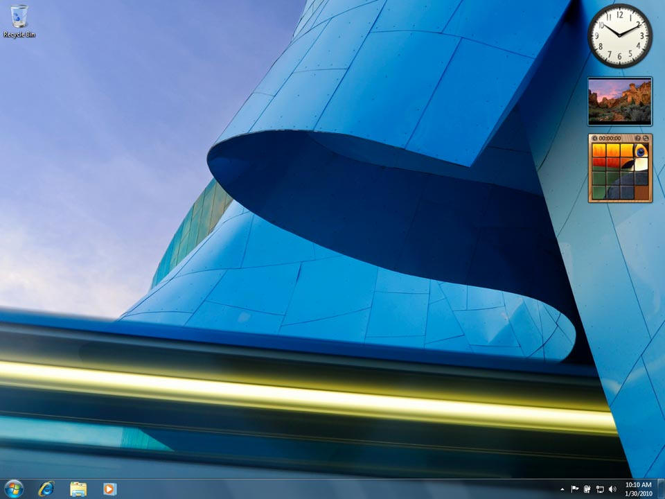 Images And Screen Shots For Microsoft Windows 7 Home Premium